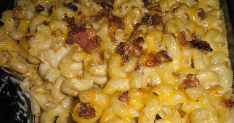 Homemade Bacon Mac & Cheese
